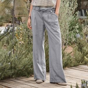 Sundance Pants - Sundance Everyday Elegance Belted Wide Leg Trouser